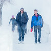 "Students make their way around the Fairbanks campus through some freshly fallen snow on the first day of classes in the Spring 2014 semester.  <div class=""ss-paypal-button"">Filename: CAM-14-4038-46.jpg</div><div class=""ss-paypal-button-end""></div>"