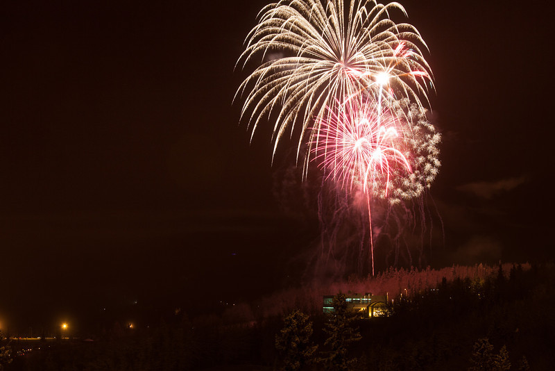 "Fireworks light up the sky above UAF's West Ridge during the annual New Year's Eve Sparktacular. The event is organized by Mike Thomas, owner of University Chevron, and is sponsored by a group of Fairbanks community groups and businesses listed at this link: http://www.uafnews.com/headlines/community-invited-to-sparktacular-celebration.  <div class=""ss-paypal-button"">Filename: CAM-11-3251-11.jpg</div><div class=""ss-paypal-button-end"" style=""""></div>"