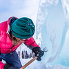 "Ronald Daanen, a research assistant professor with UAF's Institute of Northern Engineering, puts some finishing touches on an ice carving of a hibernating bear in front of the University of Alaska Museum of the North Monday afternoon.  <div class=""ss-paypal-button"">Filename: CAM-13-3701-1.jpg</div><div class=""ss-paypal-button-end"" style=""""></div>"