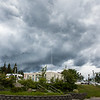 "Clouds gather above the Fairbanks campus during a summer storm.  <div class=""ss-paypal-button"">Filename: CAM-16-4917-40.jpg</div><div class=""ss-paypal-button-end""></div>"