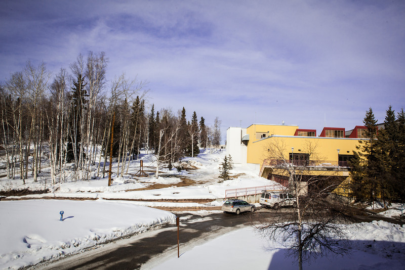 """The Wood Center building before the start of the expansion construction project in the spring of 2013.  <div class=""""ss-paypal-button"""">Filename: CAM-13-3773-11.jpg</div><div class=""""ss-paypal-button-end"""" style=""""""""></div>"""