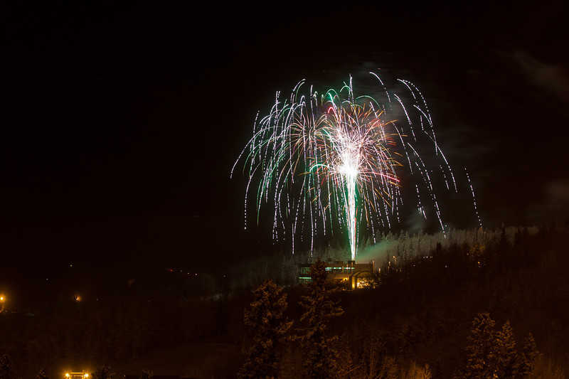 "Fireworks light up the sky above UAF's West Ridge during the annual New Year's Eve Sparktacular. The event is organized by Mike Thomas, owner of University Chevron, and is sponsored by a group of Fairbanks community groups and businesses listed at this link: http://www.uafnews.com/headlines/community-invited-to-sparktacular-celebration.  <div class=""ss-paypal-button"">Filename: CAM-11-3251-59.jpg</div><div class=""ss-paypal-button-end"" style=""""></div>"