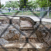 """Remains from what was once known as Main Dorm were unearthed during summer 2013 construction work in June.  <div class=""""ss-paypal-button"""">Filename: CAM-13-3854-79.jpg</div><div class=""""ss-paypal-button-end"""" style=""""""""></div>"""