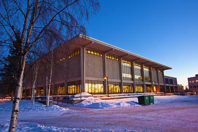The Rasmuson Library on the University of Alaska Fairbanks campus boasts the largest collection in the state.  Filename: CAM-11-2960-09.jpg