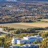 "Denali is seen on the horizon behind the Reichardt Building on the UAF campus in the foreground in an aerial photograph taken about 11:20 on Sept. 10, 2016.  <div class=""ss-paypal-button"">Filename: CAM-16-4992-084.jpg</div><div class=""ss-paypal-button-end""></div>"