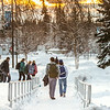 "Students walk towards the Lolla Tilly Commons during a warm January afternoon on the Fairbanks campus.  <div class=""ss-paypal-button"">Filename: CAM-14-4039-132.jpg</div><div class=""ss-paypal-button-end""></div>"