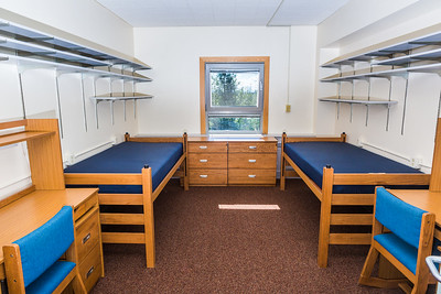 Lathrop Hall has a capacity for up to 130 students with a large lounge on the ground floor and a laundry facility in the basement.  Filename: CAM-16-4941-96.jpg