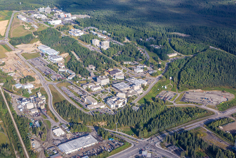 "The UAF campus sits on a hill near the west end of Fairbanks.  <div class=""ss-paypal-button"">Filename: CAM-12-3497-200.jpg</div><div class=""ss-paypal-button-end"" style=""""></div>"