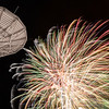 "Fireworks illuminate the Alaska Satellite Facility's 11-meter antenna on West Ridge during the annual New Year's Eve Sparktacular.  <div class=""ss-paypal-button"">Filename: CAM-13-4028-60.jpg</div><div class=""ss-paypal-button-end""></div>"