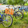 "A row of bicycles is seen in front of the Moore-Bartlett-Skarland building.  <div class=""ss-paypal-button"">Filename: CAM-16-4917-57.jpg</div><div class=""ss-paypal-button-end""></div>"
