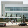 """Attendees of the Summer Sessions' Vera Alexander Legacy Lecture arrive at the newly opened Murie Building.  <div class=""""ss-paypal-button"""">Filename: CAM-13-3852-2.jpg</div><div class=""""ss-paypal-button-end"""" style=""""""""></div>"""