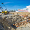 "Construction work proceeds on the foundation of a major expansion of the Duckering Building on the Fairbanks campus. The addition will include much needed lab and classroom space for UAF's engineering programs.  <div class=""ss-paypal-button"">Filename: CAM-13-3839-15.jpg</div><div class=""ss-paypal-button-end"" style=""""></div>"