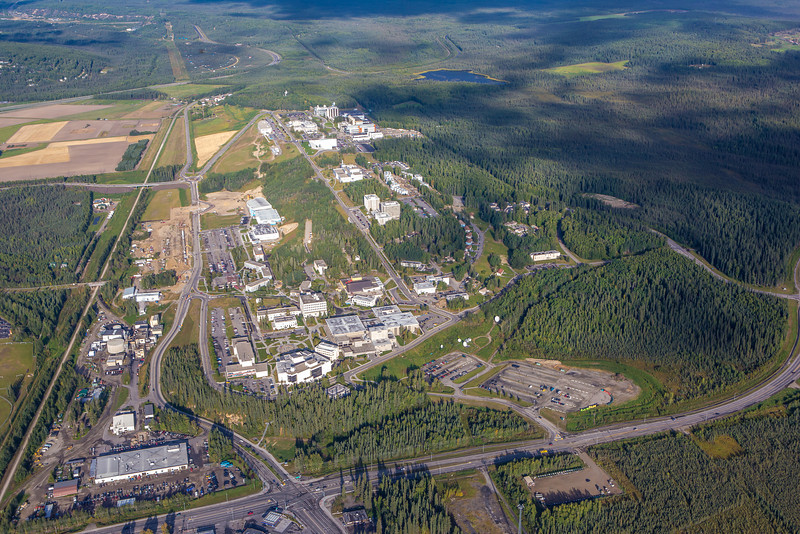 "The UAF campus sits on a hill near the west end of Fairbanks.  <div class=""ss-paypal-button"">Filename: CAM-12-3497-195.jpg</div><div class=""ss-paypal-button-end"" style=""""></div>"
