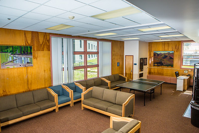 Nerland Hall is situated in the center of lower campus near the Wood Center and has a large lounge on the main floor.  Filename: CAM-16-4941-113.jpg
