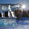 """An icy Nanook greats visitors to campus from its home on Thompson Drive.  <div class=""""ss-paypal-button"""">Filename: CAM-11-3011-05.jpg</div><div class=""""ss-paypal-button-end"""" style=""""""""></div>"""
