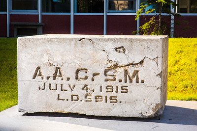 The UAF Cornerstone sits next to the engineering building and the Bunnell Building on the Fairbanks campus.  Filename: CAM-16-4933-2.jpg