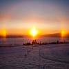 "A colorful sundog shines over the agricultural fields on the Fairbanks campus.  <div class=""ss-paypal-button"">Filename: CAM-10-2946-06.jpg</div><div class=""ss-paypal-button-end"" style=""""></div>"
