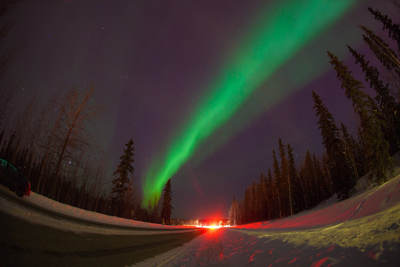 """The aurora borealis dances across the night sky above UAF's campus.  <div class=""""ss-paypal-button"""">Filename: CAM-12-3324-39.jpg</div><div class=""""ss-paypal-button-end"""" style=""""""""></div>"""
