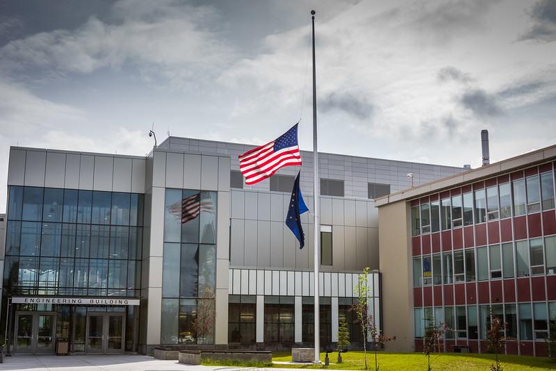 "Flags throughout the nation were lowered to half staff in the aftermath of the mass shooting at a night club in Orlando, Florida.  <div class=""ss-paypal-button"">Filename: CAM-16-4917-112.jpg</div><div class=""ss-paypal-button-end""></div>"
