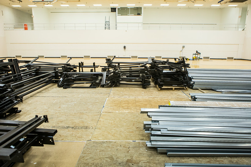 "The Patty Gym is under construction in summer of 2014 replacing the bleachers.  <div class=""ss-paypal-button"">Filename: CAM-14-4245-1.jpg</div><div class=""ss-paypal-button-end""></div>"