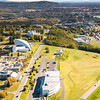 """An aerial view of UAF looking east toward Fairbanks at about 11:25 a.m. on Sept. 10, 2016.  <div class=""""ss-paypal-button"""">Filename: CAM-16-4992-115.jpg</div><div class=""""ss-paypal-button-end""""></div>"""