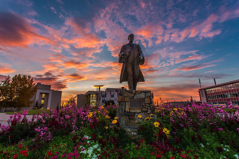 """A beautiful sunrise greets students and employees as they arrive on campus Friday, Sept. 13.  <div class=""""ss-paypal-button"""">Filename: CAM-13-3941-3.jpg</div><div class=""""ss-paypal-button-end"""" style=""""""""></div>"""