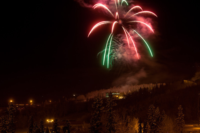"Fireworks light up the sky above UAF's West Ridge during the annual New Year's Eve Sparktacular. The event is organized by Mike Thomas, owner of University Chevron, and is sponsored by a group of Fairbanks community groups and businesses listed at this link: http://www.uafnews.com/headlines/community-invited-to-sparktacular-celebration.  <div class=""ss-paypal-button"">Filename: CAM-11-3251-20.jpg</div><div class=""ss-paypal-button-end"" style=""""></div>"