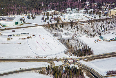 The 2,250-acre Fairbanks campus, located near the center of Alaska, offers a wide variety of opportunities for activity and recreation. The main campus has two lakes and miles of trails as well as a major student recreation complex for indoor sports.  Filename: CAM-13-3781-21.jpg