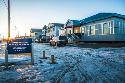 The Northwest Campus in Nome is one of five rural sites managed under UAF's College of Rural and Community Development.  Filename: CAM-16-4865-507.jpg