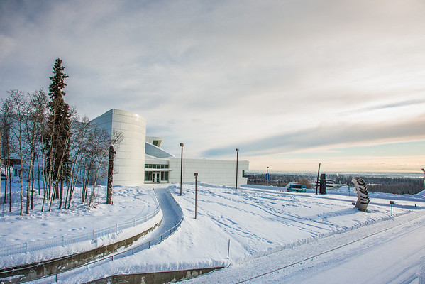 "The distinctive University of Alaska Museum of the North is located on the UAF campus.  <div class=""ss-paypal-button"">Filename: CAM-13-3722-50.jpg</div><div class=""ss-paypal-button-end"" style=""""></div>"