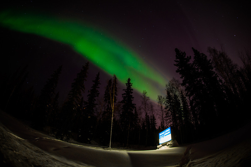 "The aurora borealis dances across the night sky above UAF's campus.  <div class=""ss-paypal-button"">Filename: CAM-12-3324-38.jpg</div><div class=""ss-paypal-button-end"" style=""""></div>"