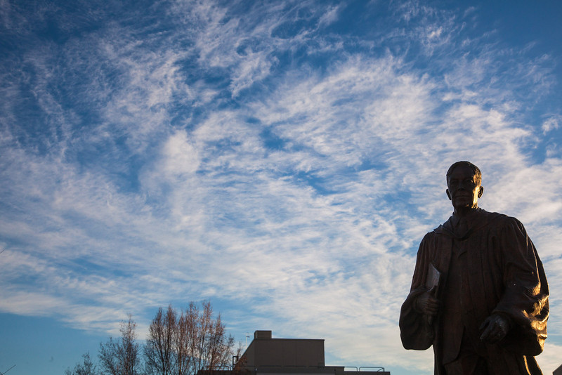 "Clouds cover the skies on an October morning on campus.  <div class=""ss-paypal-button"">Filename: CAM-12-3575-11.jpg</div><div class=""ss-paypal-button-end"" style=""""></div>"