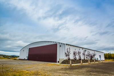 This 12,000 square foot hanger on the East Ramp of the Fairbanks International Airport is the future home to CTC's avaiation maintenance program.  Filename: CAM-12-3536-17.jpg