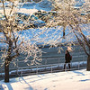 "A student walks on campus during winter.  <div class=""ss-paypal-button"">Filename: CAM-14-4051-23.jpg</div><div class=""ss-paypal-button-end""></div>"