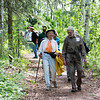 "Attendees of the Les Viereck Nature Trail dedication walk the Les Viereck Nature Trail after the ceremony.  <div class=""ss-paypal-button"">Filename: CAM-12-3435-66.jpg</div><div class=""ss-paypal-button-end"" style=""""></div>"