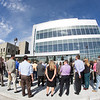 """A big crowd turned out for the official ceremony dedicating the Margaret Murie Building on UAF's West Ridge.  <div class=""""ss-paypal-button"""">Filename: CAM-13-3912-016.jpg</div><div class=""""ss-paypal-button-end"""" style=""""""""></div>"""