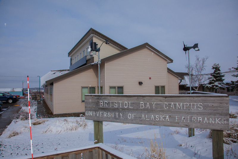 """UAF's Bristol Bay Campus is located in the coastal community of Dillingham, Alaska.  <div class=""""ss-paypal-button"""">Filename: CAM-12-3390-167.jpg</div><div class=""""ss-paypal-button-end"""" style=""""""""></div>"""