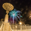 "Fireworks illuminate the Alaska Satellite Facility's 11-meter antenna on West Ridge during the annual New Year's Eve Sparktacular.  <div class=""ss-paypal-button"">Filename: CAM-13-4028-46.jpg</div><div class=""ss-paypal-button-end""></div>"