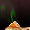 "The aurora borealis dances across the night sky above the barn at  UAF's Agricultural and Forestry Experiment Station on the Fairbanks campus.  <div class=""ss-paypal-button"">Filename: CAM-12-3324-49.jpg</div><div class=""ss-paypal-button-end"" style=""""></div>"