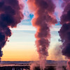 "Steam rises from the UAF Power Plant on a cold November morning.  <div class=""ss-paypal-button"">Filename: CAM-12-3663-36.jpg</div><div class=""ss-paypal-button-end"" style=""""></div>"