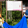 "Teri Viereck, left, and Sherry Modrow, unveil the Les Viereck Nature Trail marker during the dedication ceremony of the trail.  <div class=""ss-paypal-button"">Filename: CAM-12-3435-51.jpg</div><div class=""ss-paypal-button-end"" style=""""></div>"