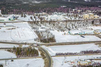 The 2,250-acre Fairbanks campus, located near the center of Alaska, offers a wide variety of opportunities for activity and recreation. The main campus has two lakes and miles of trails as well as a major student recreation complex for indoor sports.  Filename: CAM-13-3781-228.jpg