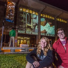 "Undergraduates Teal Rogers and Jimmy Donohue pose during a late night promotional video shoot  by the Rasmuson Library.  <div class=""ss-paypal-button"">Filename: CAM-13-3925-198.jpg</div><div class=""ss-paypal-button-end"" style=""""></div>"