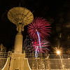 "Fireworks illuminate the Alaska Satellite Facility's 11-meter antenna on West Ridge during the annual New Year's Eve Sparktacular.  <div class=""ss-paypal-button"">Filename: CAM-13-4028-55.jpg</div><div class=""ss-paypal-button-end""></div>"