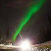 "The aurora borealis dances across the night sky above UAF's campus.  <div class=""ss-paypal-button"">Filename: CAM-12-3324-40.jpg</div><div class=""ss-paypal-button-end"" style=""""></div>"