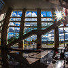 """A student reads inside the Akasofu Building's main entrance Tuesday, August 28, 2012 on a sunny day before the start of the fall semester.  <div class=""""ss-paypal-button"""">Filename: CAM-12-3519-1.jpg</div><div class=""""ss-paypal-button-end"""" style=""""""""></div>"""