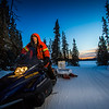 "Ski trails manager Jason Garron grooms the skate ski track on the UAF trails early on a cold February morning.  <div class=""ss-paypal-button"">Filename: CAM-16-4818-63.jpg</div><div class=""ss-paypal-button-end""></div>"