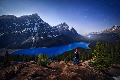 3/52 - Night at Peyto