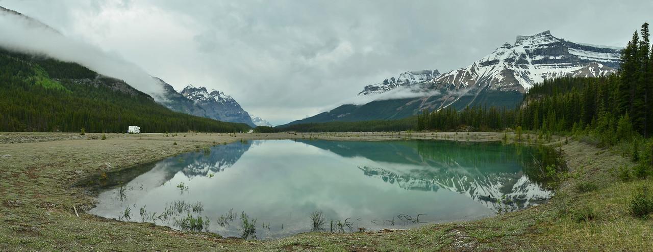 Mt. Amery, Banff NP, Alberta, Canada