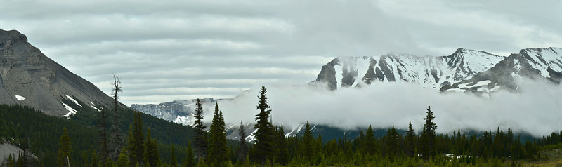 Sunwapta Pass, Jasper - Banff NP, Canada